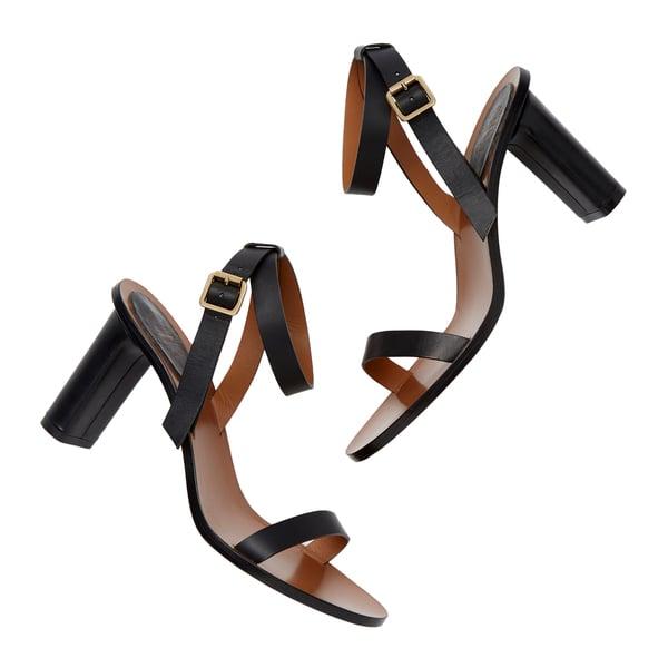 ATP Atelier Soave Black Leather Heels