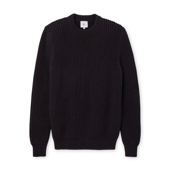 G. Label Mike Ribbed Boat Sweater