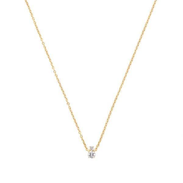 Jemma Wynne Diamond Solitaire Necklace