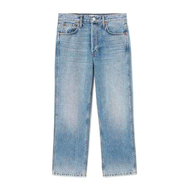 RE/DONE 90s Low Slung Crop Jeans