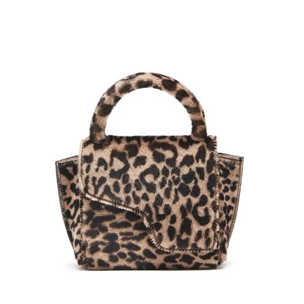ATP Atelier Montalcino Leopard Fur Handbag