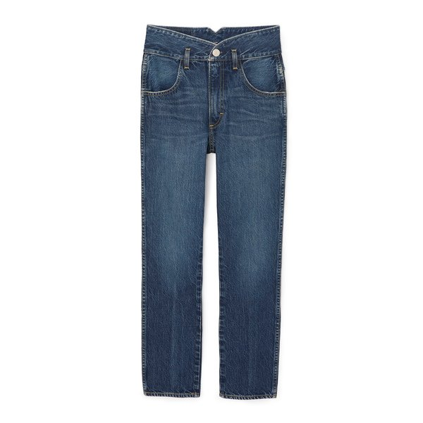 AMO Tulip Jeans High-Rise Slim-Fit Jeans