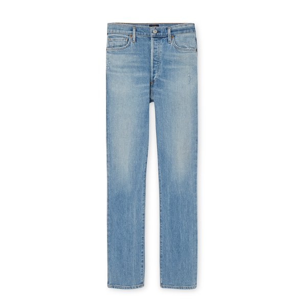 Citizens of Humanity Olivia Long High Rise Slim Jeans