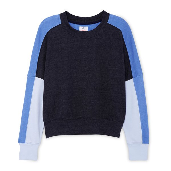 Sundry Colorblock Sweatshirt