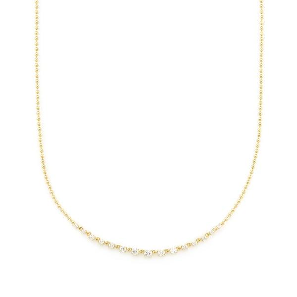 Jemma Wynne Graduate Diamond Necklace