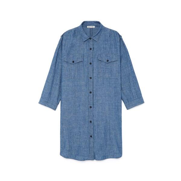 Alex Mill Chambray Military Shirtdress