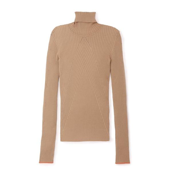 Victoria Beckham Slim Polo Knit Top