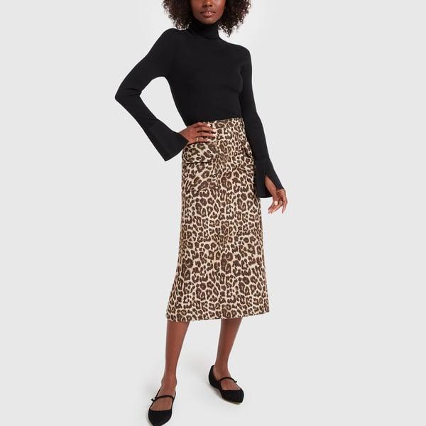 NO. 6 Sylvia Leopard Skirt