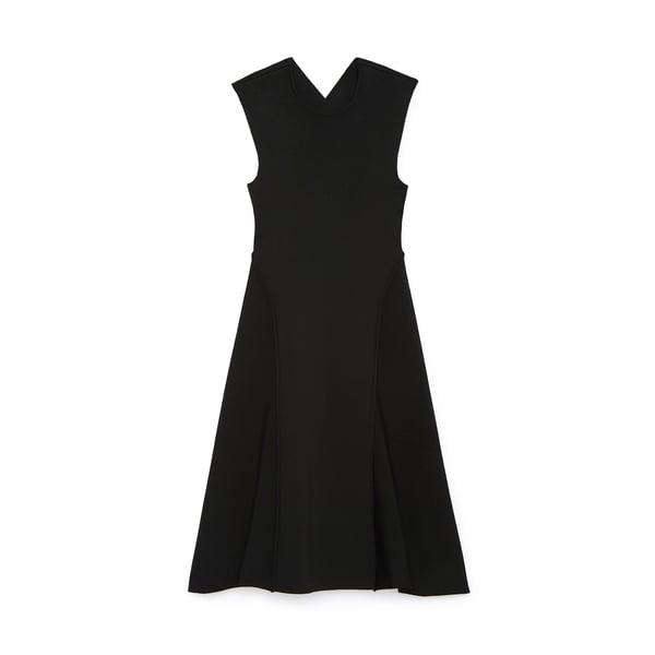 Victoria Beckham Cross Back Open Dress