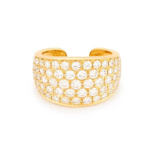 Anita Ko 18-Karat Yellow-Gold Diamond Galaxy Ear Cuff