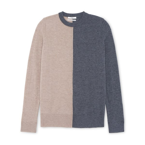 Co Baby Cashmere Color-Blocked Sweater