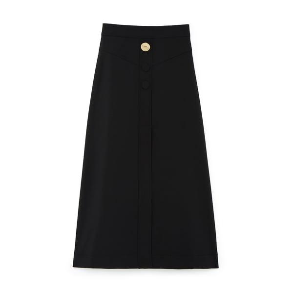 Ellery Homework A-Line Yolk Skirt