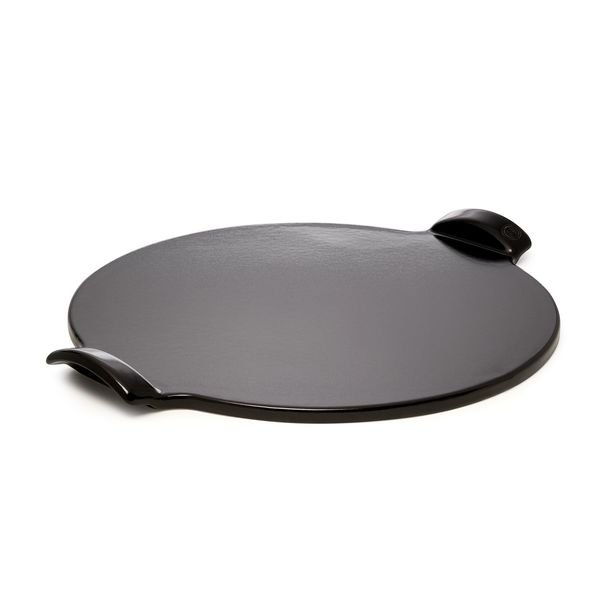 Emile Henry Charcoal Smooth Pizza Stone