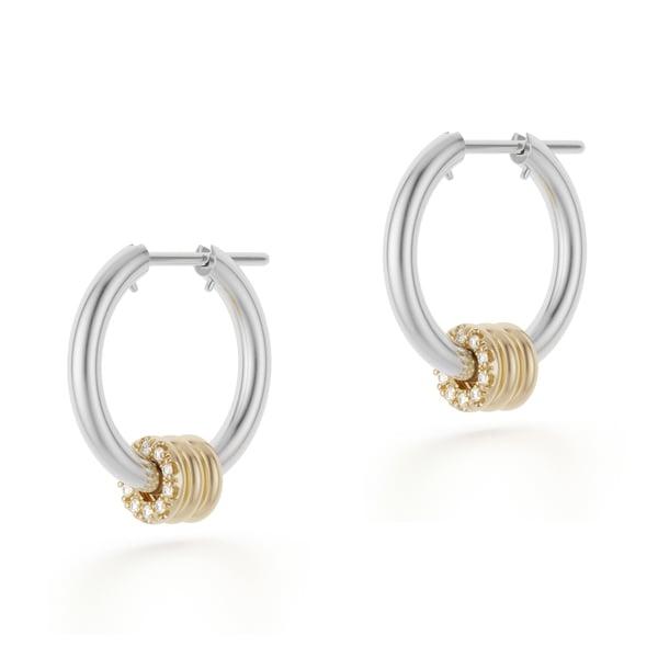 Spinelli Kilcollin Ara Deux Hoop Earrings