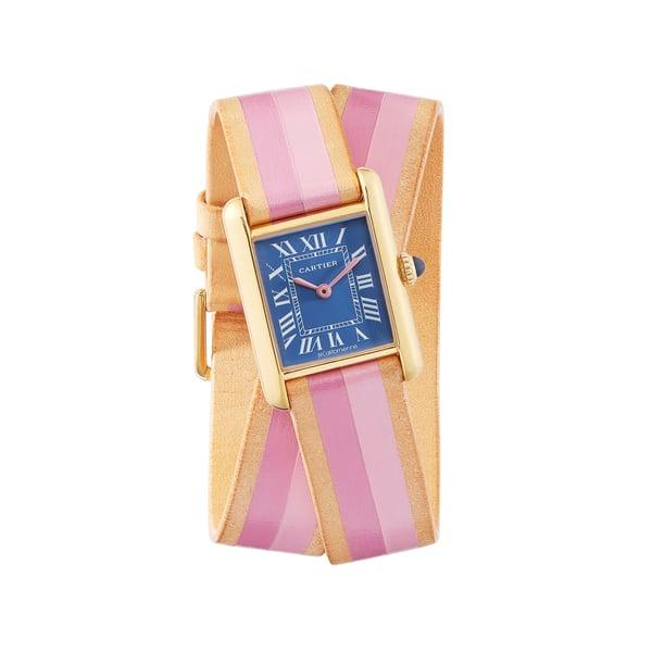 La Californienne Small Cartier Tank Wrap Strap Watch