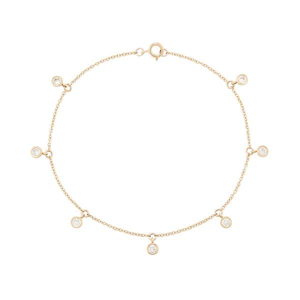 Ariel Gordon Diamond Droplet Bracelet