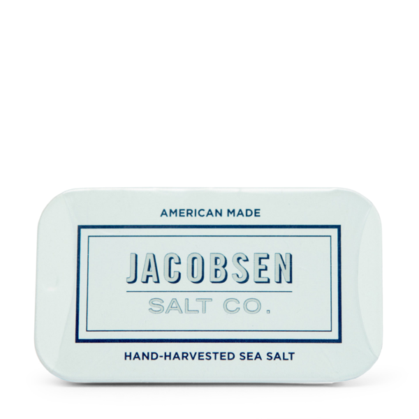Jacobsen's Salt Co. Sea Salt Slide Tin
