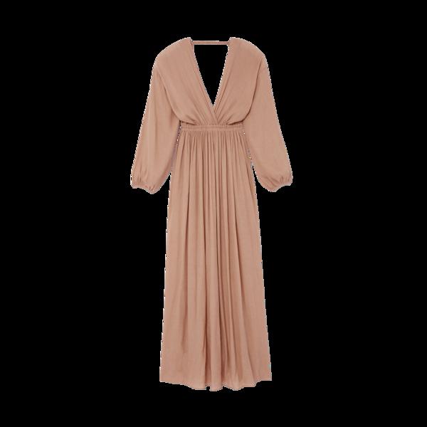Matteau Open Back Plunge Dress