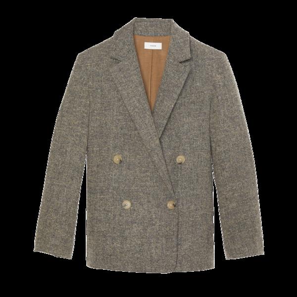 Vince Pebble Texture Wool Jacket