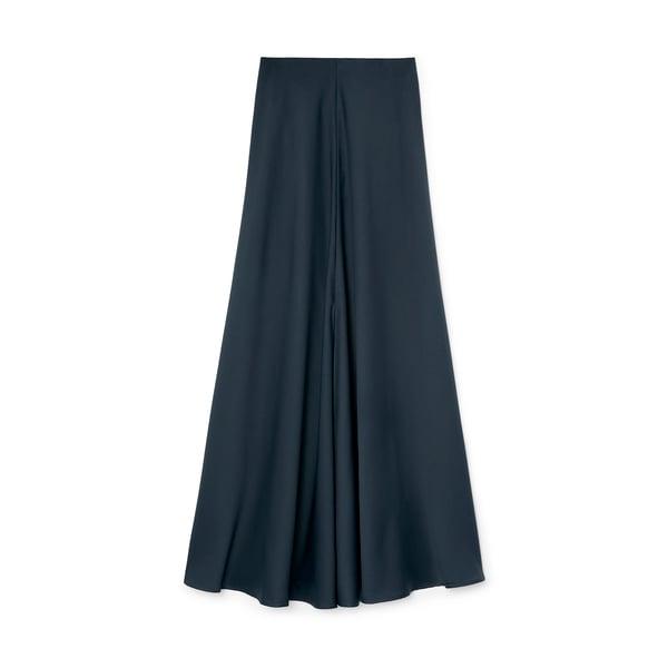 G. Label Torti Maxi Slip Skirt
