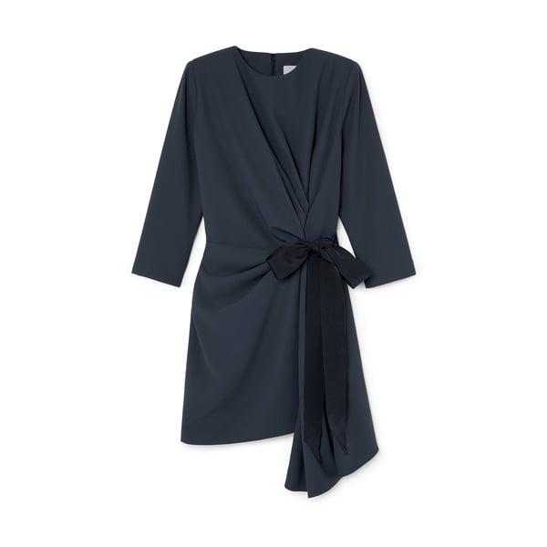 G. Label Lai Side-Pleat Dress