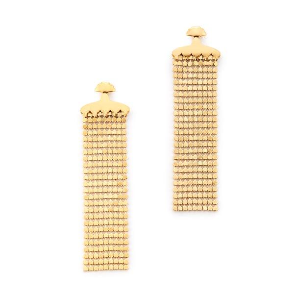 MM Druck Maidenhair Earrings