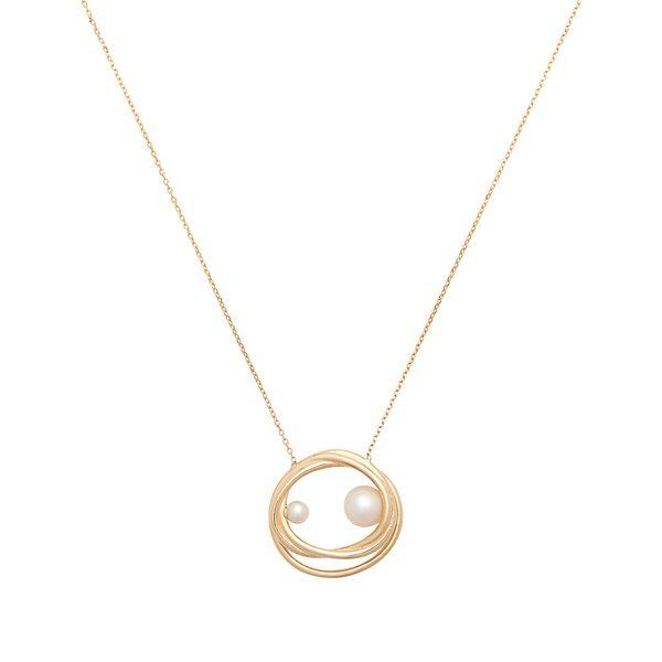Sarah & Sebastian Bound Pearl Necklace