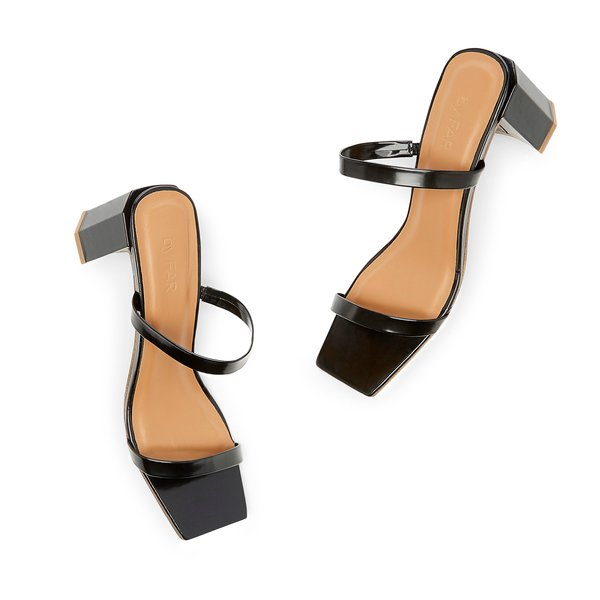 BY FAR Shoes Tanya Patent Leather Sandals