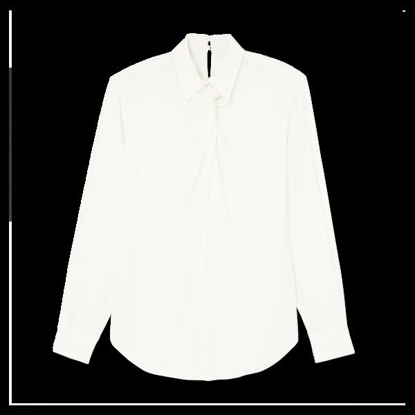 Victoria Beckham Twist-Neck Shirt