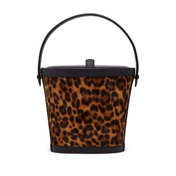 Hunting Season Leopard Bucket Bag