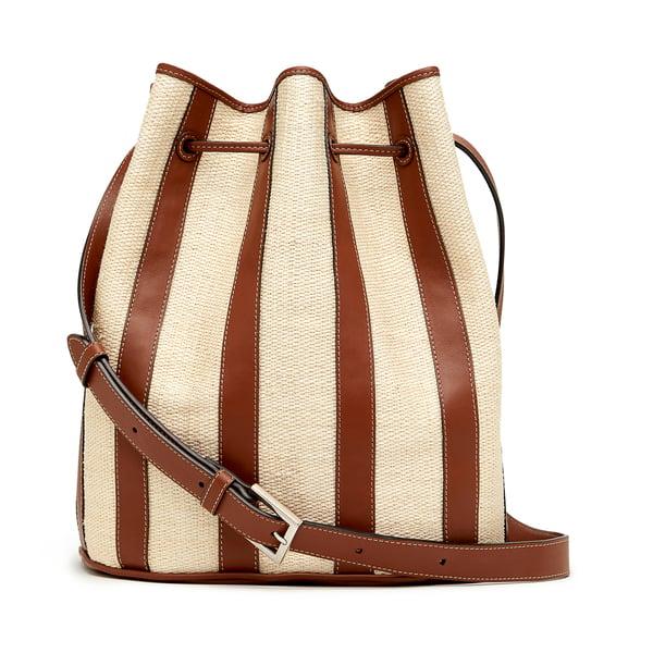 Hunting Season Paneled Drawstring Bucket Bag