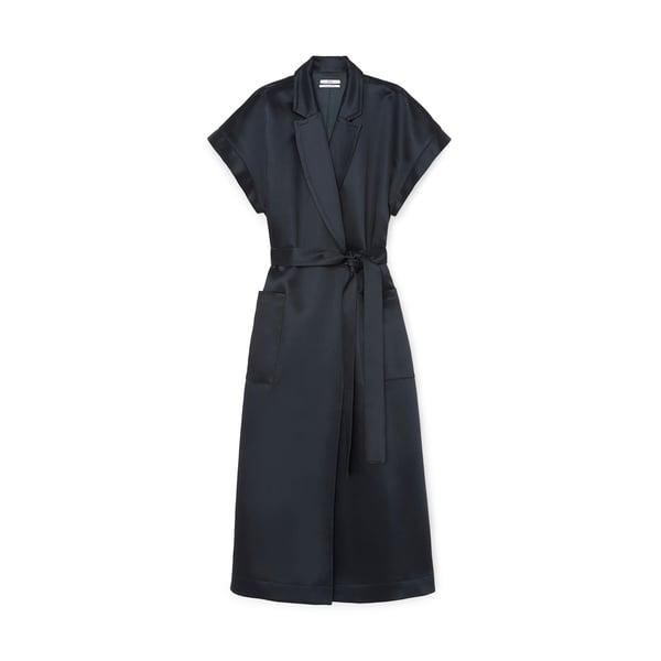 Co Sleeveless Wrap Dress