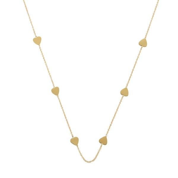 Jennifer Meyer Heart-by-the-Inch Necklace