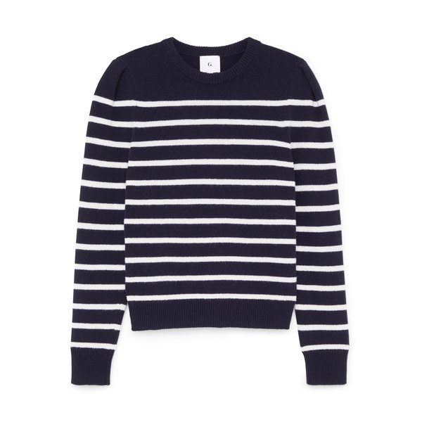 G. Label Antoniadis Puff-Sleeve Mariner Sweater