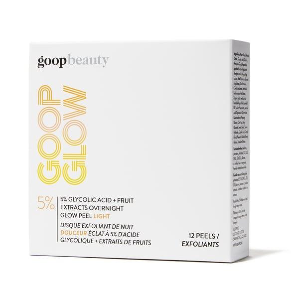 goop Beauty GOOPGLOW 5% Glycolic Acid Overnight Glow Peel Light