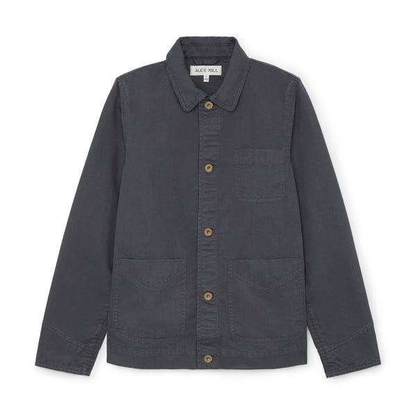 Alex Mill Cotton Herringbone Worker Jacket