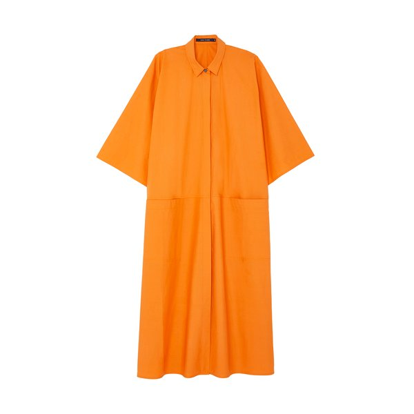 Sofie D'Hoore Apricot Shirtdress