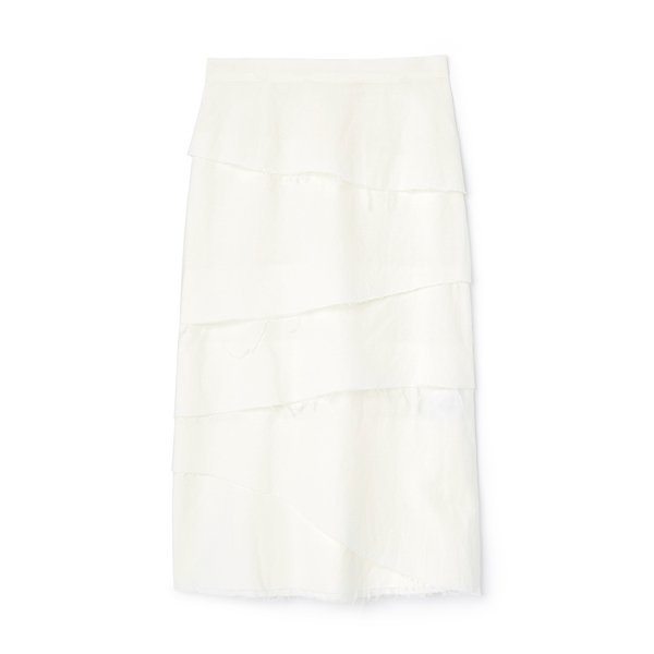 Brock Collection Woven Skirt Queshia
