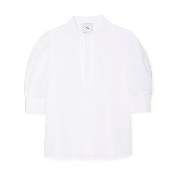 G. Label Oz Puff-Sleeve Blouse