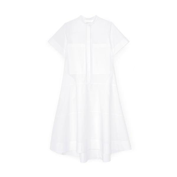 G. Label Mendoza Dropped-Waist Shirtdress