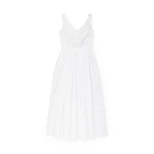 Thierry Colson Valeria Cotton Poplin Midi Dress