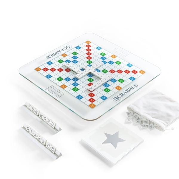 WS Game Company  Scrabble Glass Edition