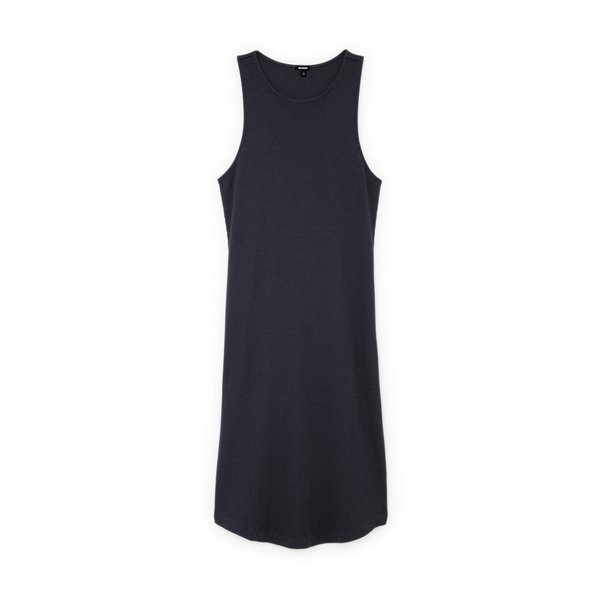 Monrow Rib Racer Tank Dress