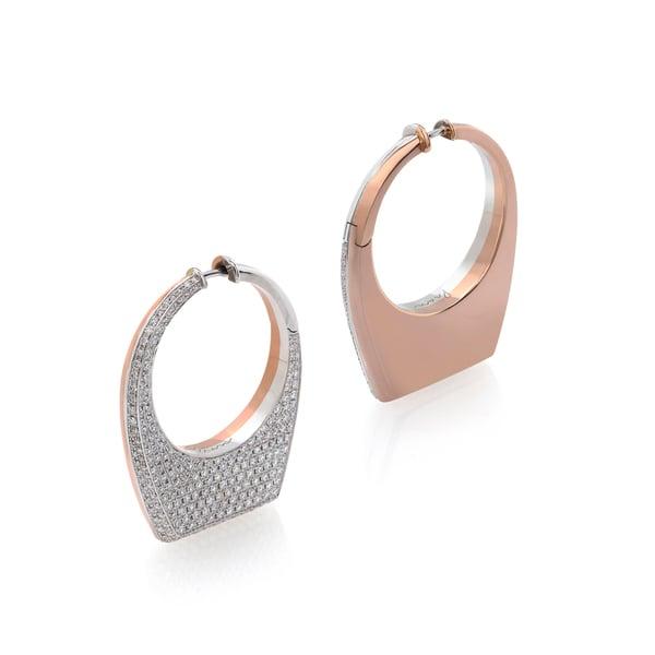 Prasi Fine Jewelry Dois Irmãos Semi-Set Earrings