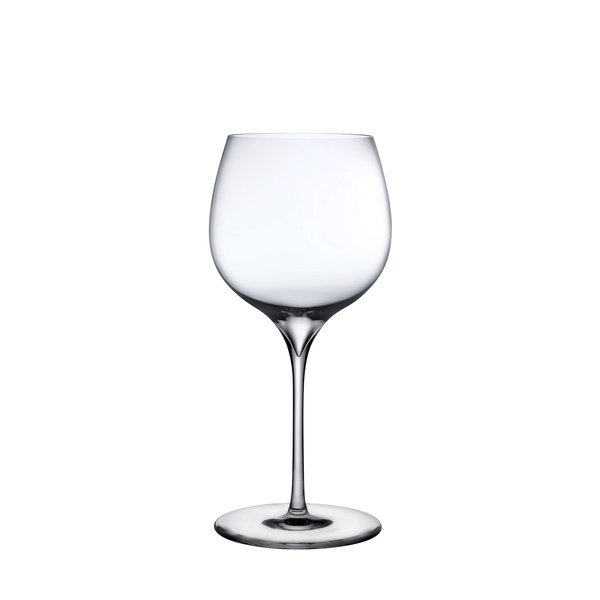 Nude Glass  Dimple Rich White Wine Glass, Set of 2