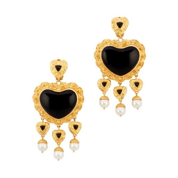 Valére Sacred Heart Earrings