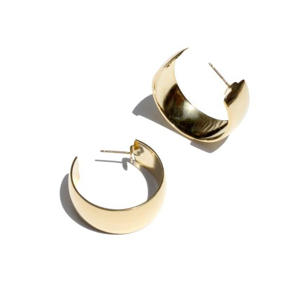 Young Frankk Classic Hoop Earrings