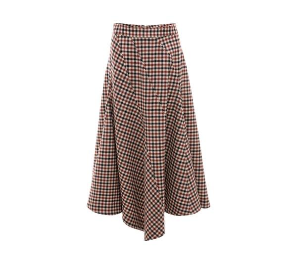 JW Anderson Seamed Spiral Skirt