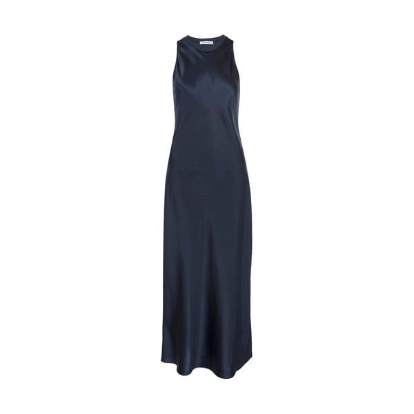 Frame Bias Silk Dress