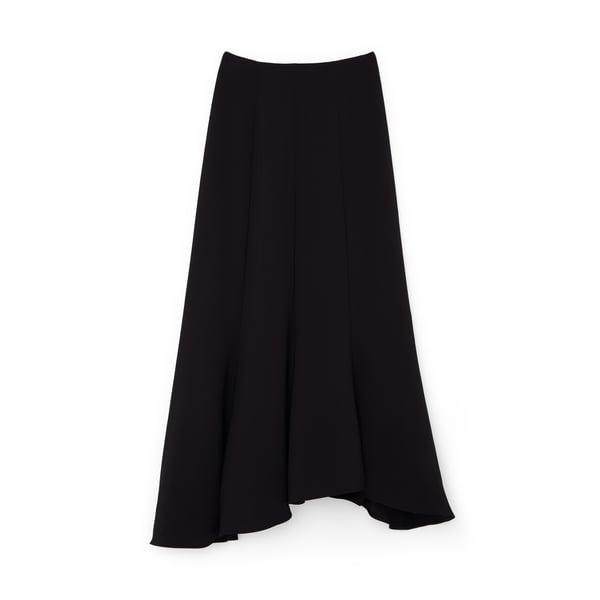 G. Label Carol Crepe Godet Skirt